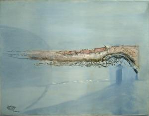 S/T (1994). Óleo sobre lienzo 83 x 101 cm. Colección particular.