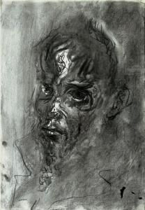 S/T. Carboncillo sobre papel 48 x 34 cm. Colección particular.