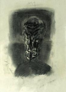 S/T. Carboncillo sobre papel 40 x 29 cm. Colección particular.