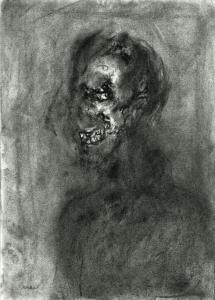 S/T. Carboncillo sobre papel 45 x 32 cm. Colección particular.