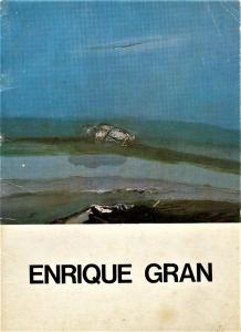 Enrique Gran/1972. Exposición individual Enrique Gran