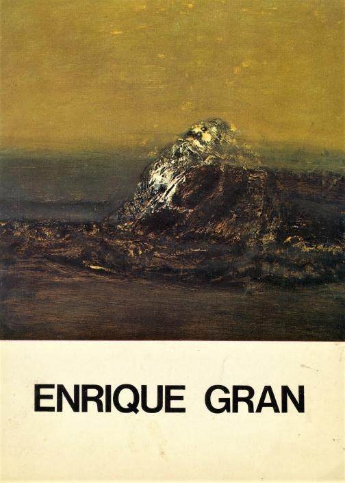 Enrique Gran/1975. Exposición individual Enrique Gran
