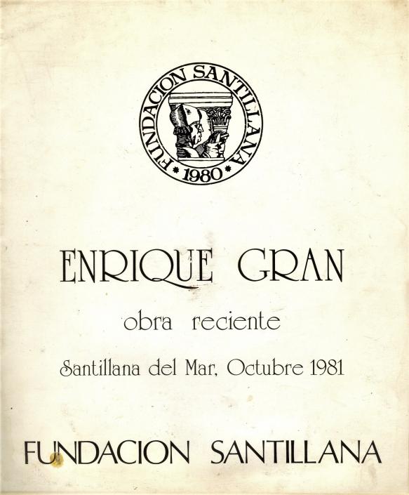 Enrique Gran/1981. Exposición individual 1981 Enrique Gran