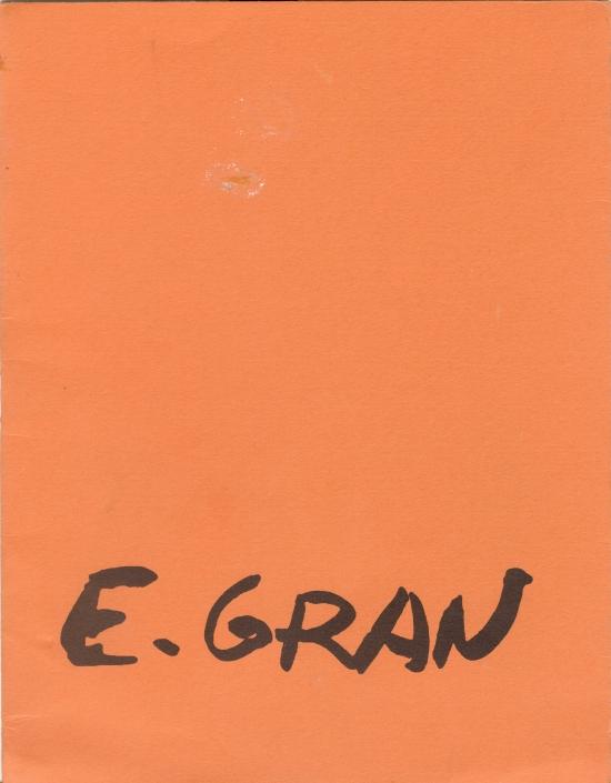E. GRAN /1999. Exposición individual Enrique Gran