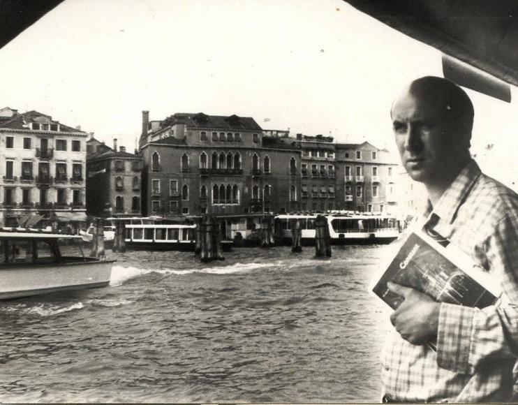 Representando nuevamente a España en la Bienal de Venecia, 1962.