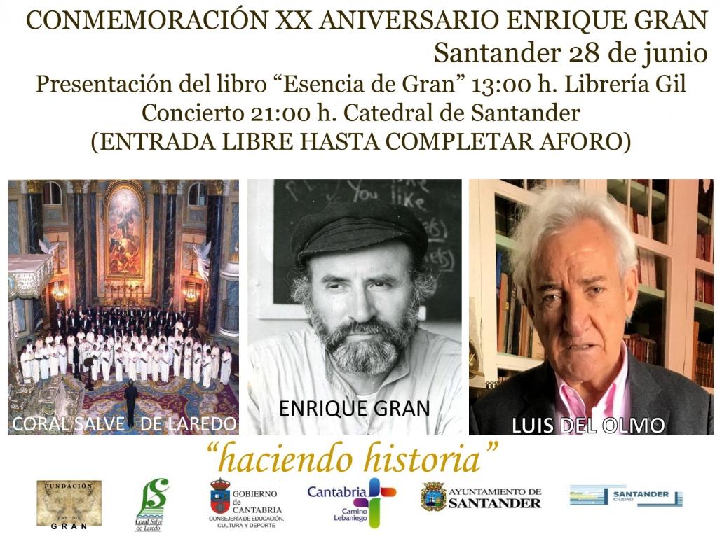 XX ANIVERSARIO ENRIQUE GRAN