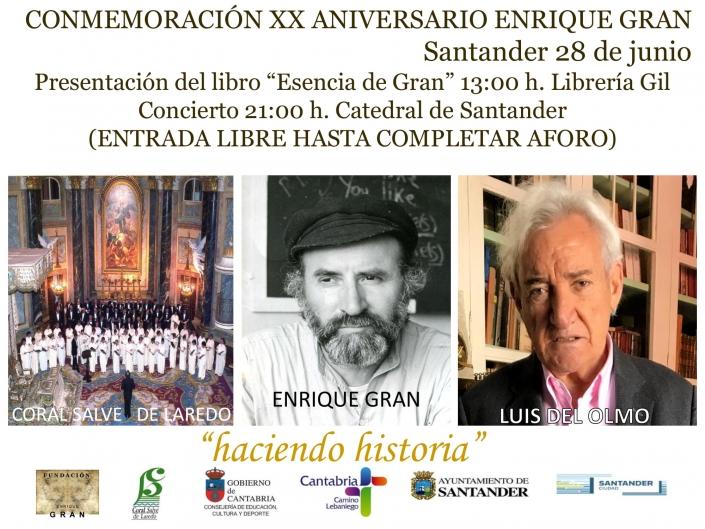Conmemoración XX Aniversario Enrique Gran. Santander 2019