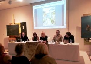 Conferencia en torno a La Fundación Enrique Gran dentro del foro de debate del MAS sobre fundaciones de artistas. Santander, 2014