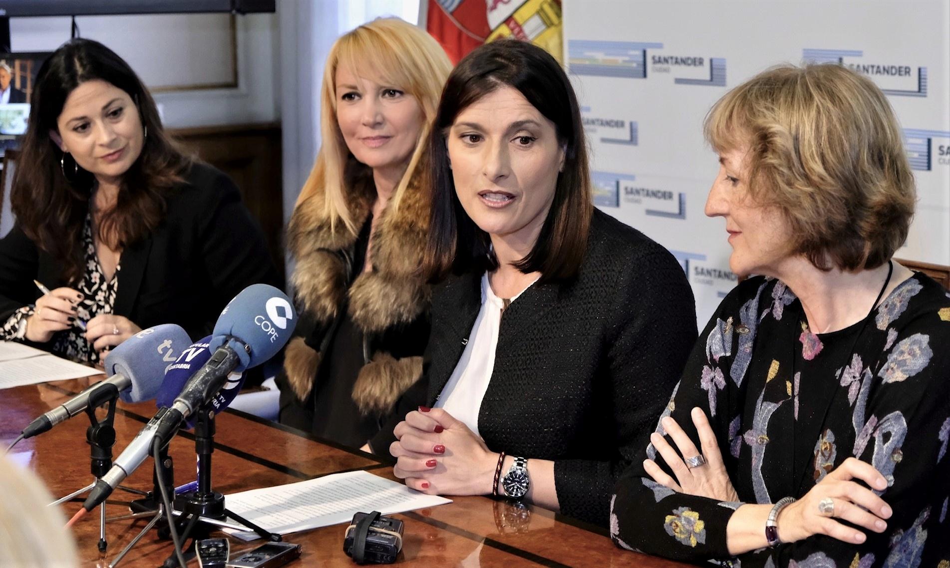 Rueda de prensa actos conmemorativos XX Aniversario Enrique Gran. Ayuntamiento de Santander, 2019